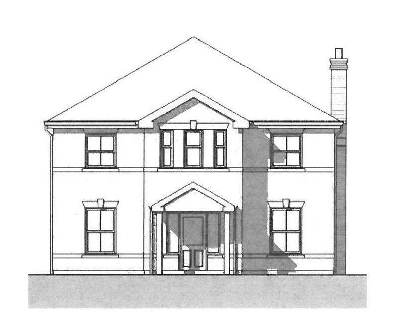 4 Bedrooms Detached House for sale in Plot 44, Type F, Brades Meadow, Mortimer Road, Montgomery, SY15 6UP