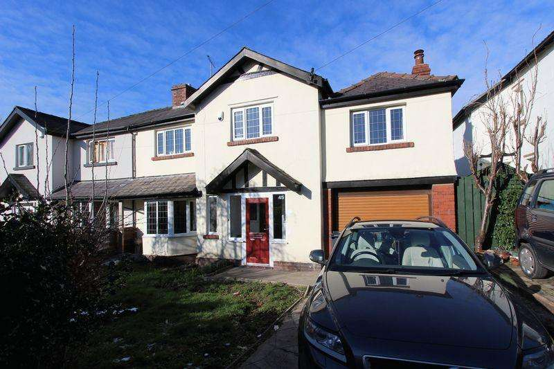 4 Bedrooms Semi Detached House for sale in Circular Road, Prestwich, Manchester
