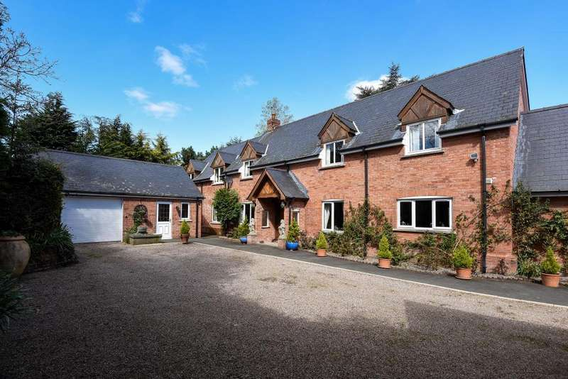 5 Bedrooms Detached House for sale in Llyswen,Powys, LD3, LD3