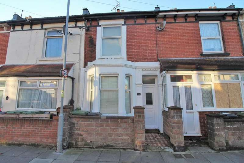 2 Bedrooms Terraced House for sale in Widley Road, Stamshaw