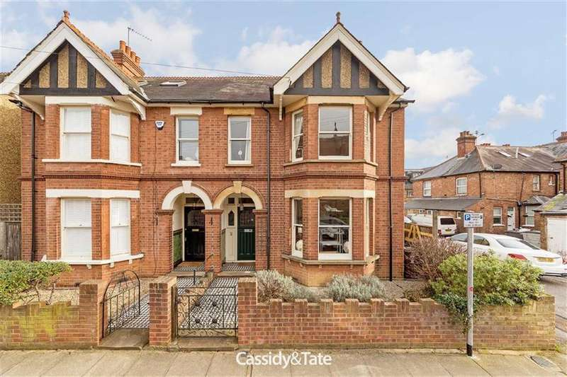4 Bedrooms Semi Detached House for sale in Blandford Road, St Albans, Hertfordshire