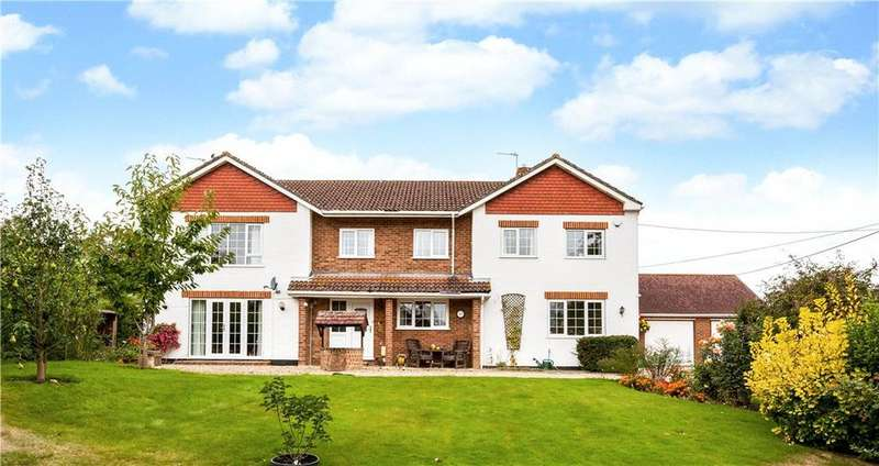 5 Bedrooms Detached House for sale in Chapel Lane, Ashford Hill, Hampshire, RG19