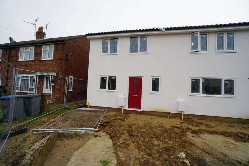 3 Bedrooms Semi Detached House for sale in Heath View, Leiston, Suffolk, IP16
