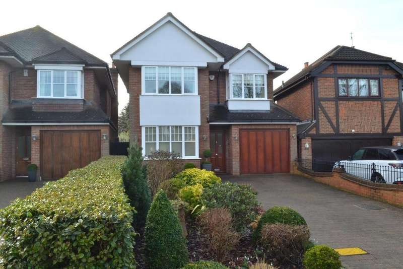 5 Bedrooms Detached House for sale in St. Johns Road, Billericay, Essex, CM11