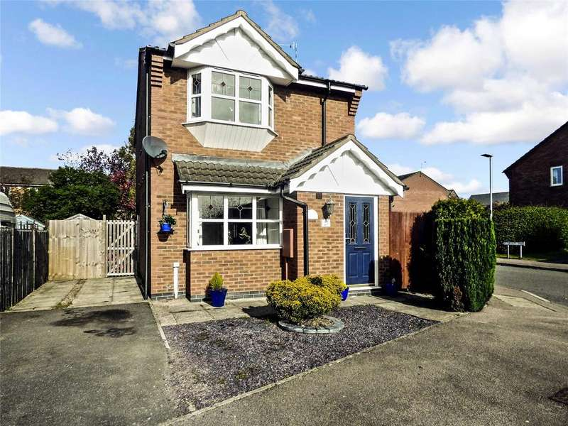 3 Bedrooms Detached House for sale in Florian Way, Hinckley, Leicestershire, LE10
