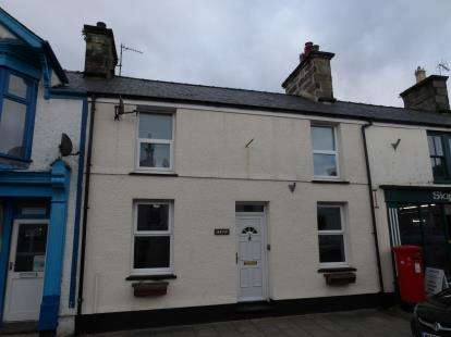 3 Bedrooms Terraced House for sale in High Street, Penrhyndeudraeth, Gwynedd, LL48