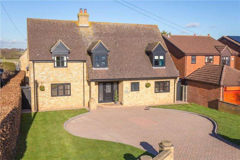 5 Bedrooms Detached House for sale in Biggleswade Road, Upper Caldecote, Biggleswade