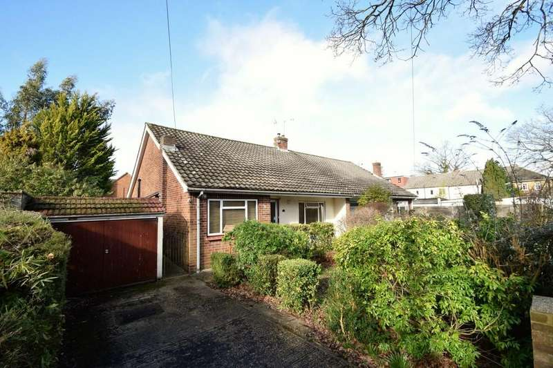 2 Bedrooms Semi Detached Bungalow for sale in Woodbine Close, Sandhurst