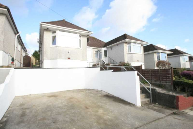 2 Bedrooms Semi Detached Bungalow for sale in Vicarage Gardens, Plymouth