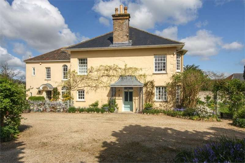5 Bedrooms Detached House for sale in Stanford House, Sand Road, WEDMORE, Somerset