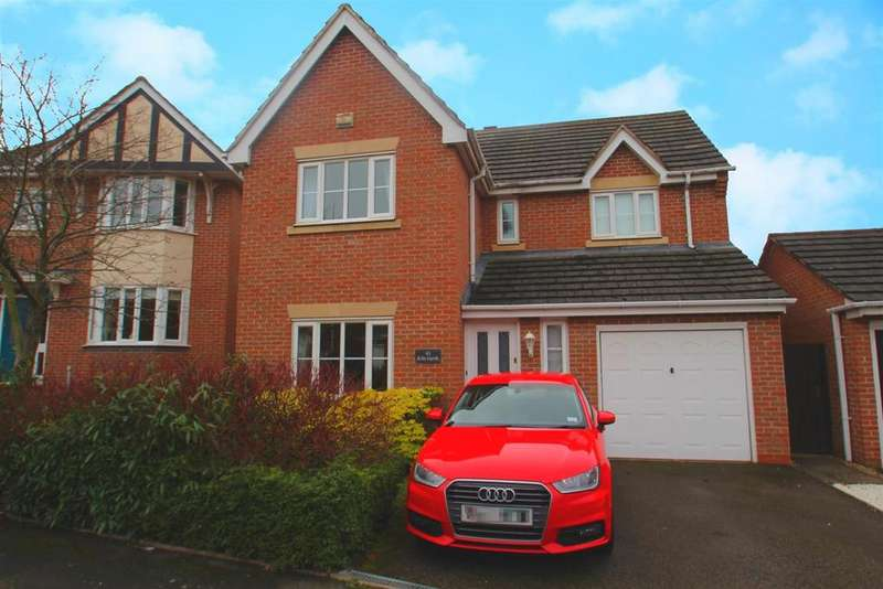 4 Bedrooms Detached House for sale in Kiln Garth, Rothley, Leicester