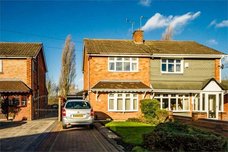 2 Bedrooms Detached House for sale in Helming Drive, Danehurst, Wolverhampton, West Midlands