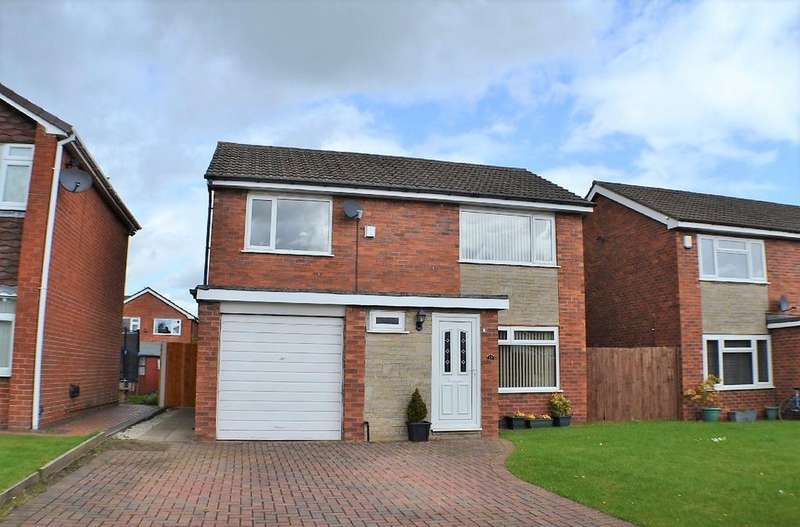 4 Bedrooms Detached House for sale in Riverside Crescent, Holmes Chapel