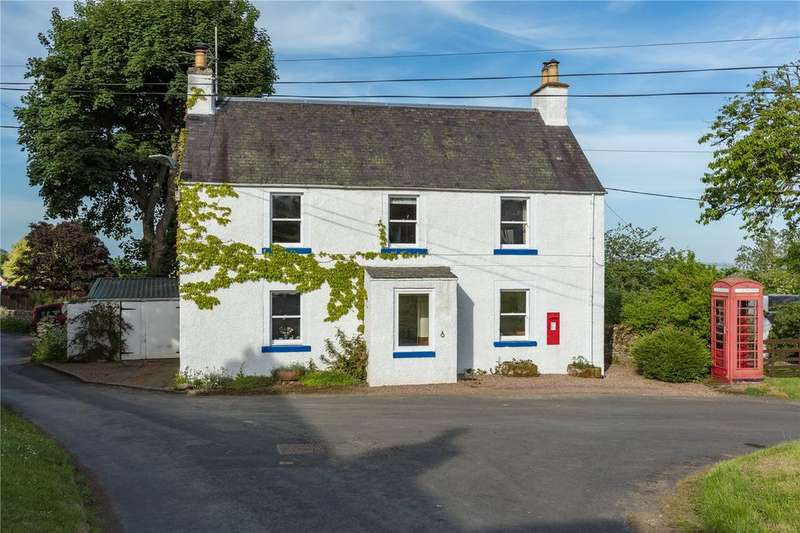 3 Bedrooms Detached House for sale in The Post House, Midlem, Selkirk, Scottish Borders