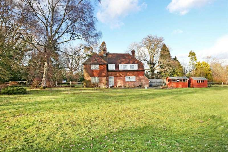 4 Bedrooms Detached House for sale in The Lane, Fordcombe, Tunbridge Wells, Kent, TN3