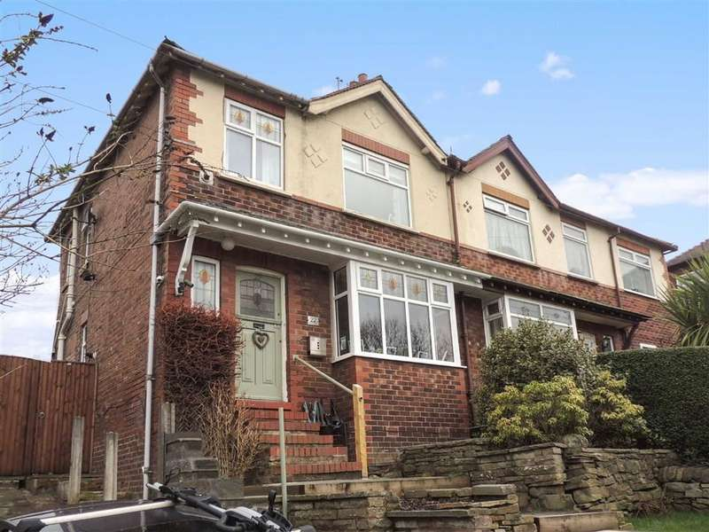 3 Bedrooms Semi Detached House for sale in School Brow, Romiley, Stockport