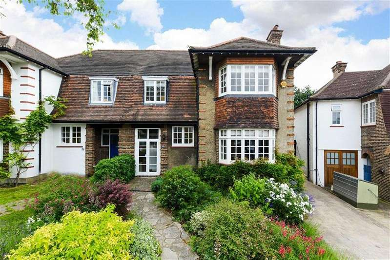 5 Bedrooms Semi Detached House for sale in Gilkes Crescent, London