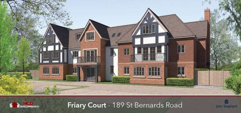 2 Bedrooms Apartment Flat for sale in Friary Court , St Bernards Road