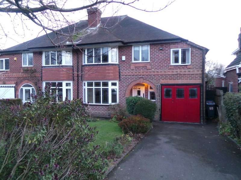 4 Bedrooms Semi Detached House for sale in Grange Road, Erdington