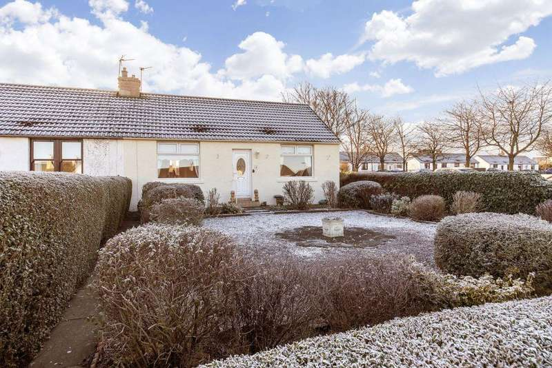 2 Bedrooms Semi Detached Bungalow for sale in 4 Westbank Terrace, Macmerry, EH33 1QE