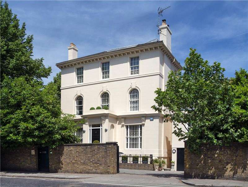 4 Bedrooms Detached House for sale in Prince Albert Road, London, NW1