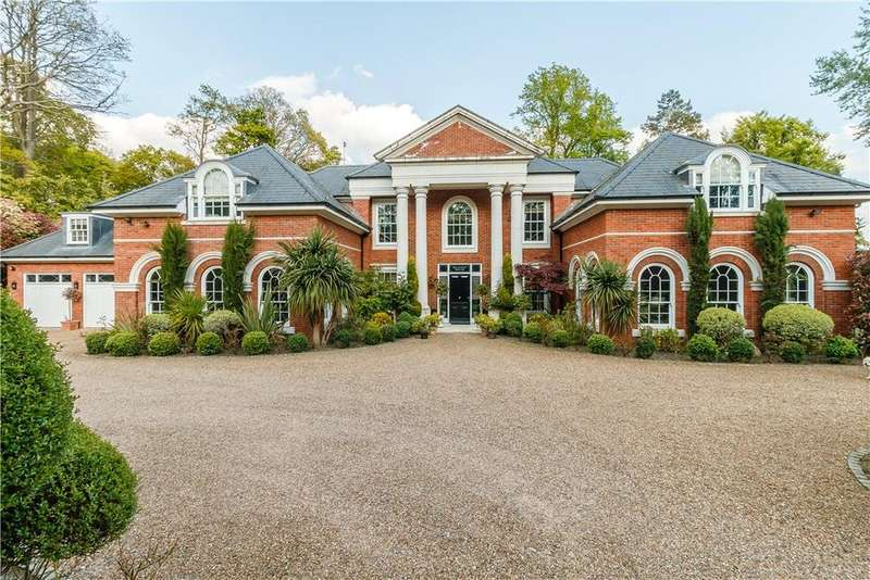 6 Bedrooms Detached House for sale in Woodlands Road West, Wentworth, Virginia Water, Surrey, GU25