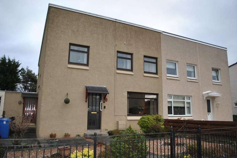 3 Bedrooms Semi Detached House for sale in King O'muirs Avenue, Glenochil Village, Clackmannanshire FK10