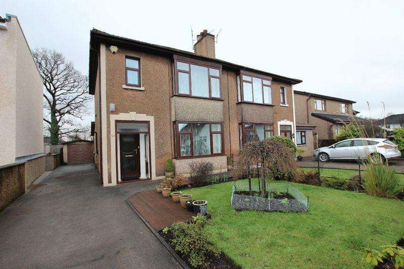 3 Bedrooms Semi Detached House for sale in Dumbuck Crescent, Dumbarton