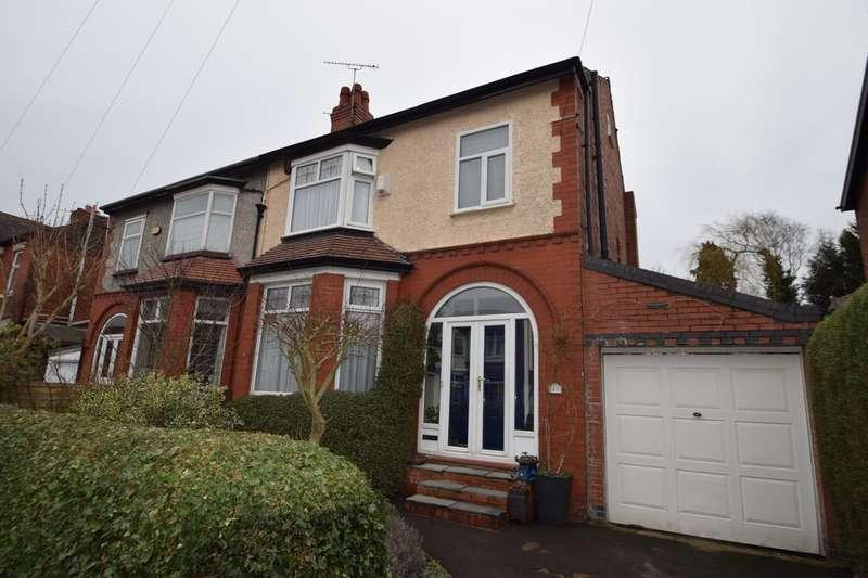 3 Bedrooms Semi Detached House for sale in Beech Avenue, Gatley