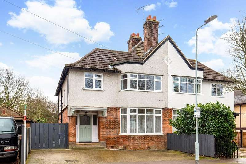 4 Bedrooms Semi Detached House for sale in Kingston Road, Romford, RM1