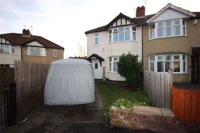 3 Bedrooms Semi Detached House for sale in Whiteleaze, Westbury-on-Trym, Bristol, BS10