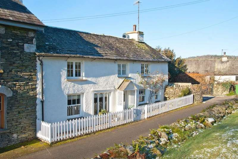 3 Bedrooms Semi Detached House for sale in Church Cottage, Far Sawrey, Cumbria, LA22 0LH