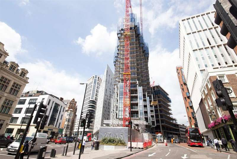 2 Bedrooms Apartment Flat for sale in Atlas Building, City Road, London, EC1V
