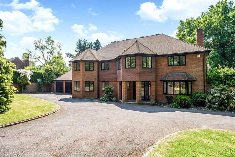 5 Bedrooms Detached House for sale in Witheridge Lane, Knotty Green, Beaconsfield, Buckinghamshire, HP9