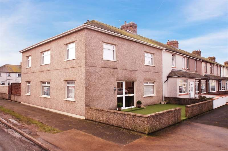 4 Bedrooms End Of Terrace House for sale in CA7 4DG Waver Street, Silloth, WIGTON, Cumbria