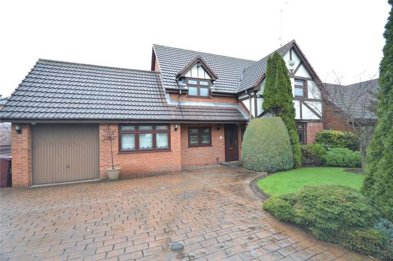 4 Bedrooms Detached House for sale in Redpoll Grove, Halewood, Liverpool, L26
