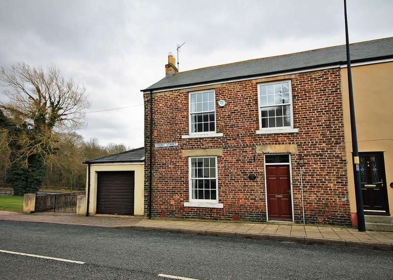 3 Bedrooms Semi Detached House for sale in Front Street, Witton Gilbert, Durham