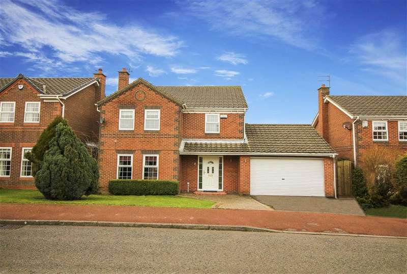 4 Bedrooms Detached House for sale in Ashford Road, Newcastle Upon Tyne