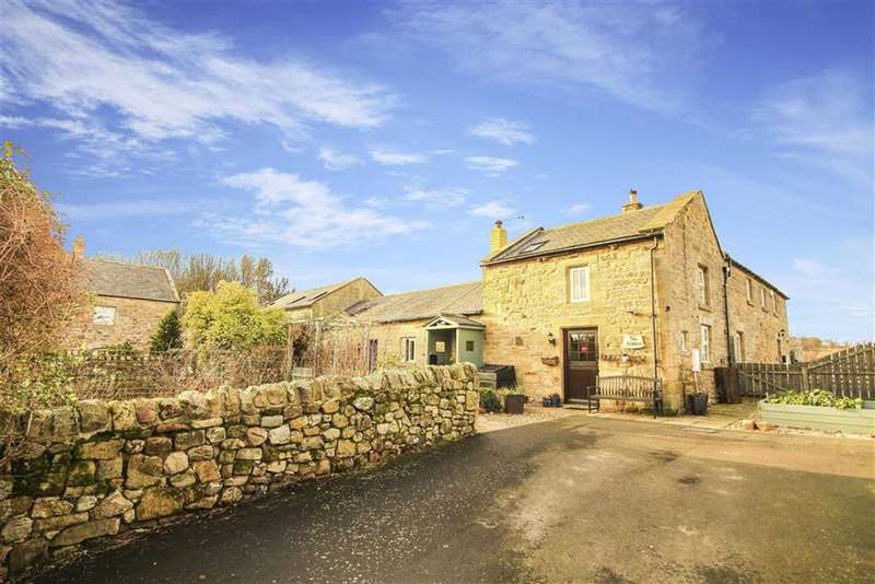 2 Bedrooms Barn Conversion Character Property for sale in North Farm, Warenford, Northumberland