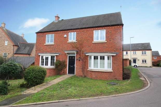 4 Bedrooms Detached House for sale in Waistrell Drive, Loughborough, Leicestershire, LE11 5ER