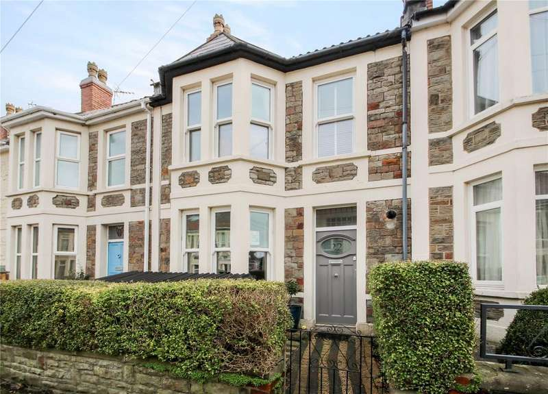 4 Bedrooms Terraced House for sale in Gathorne Road, Southville, BRISTOL, BS3