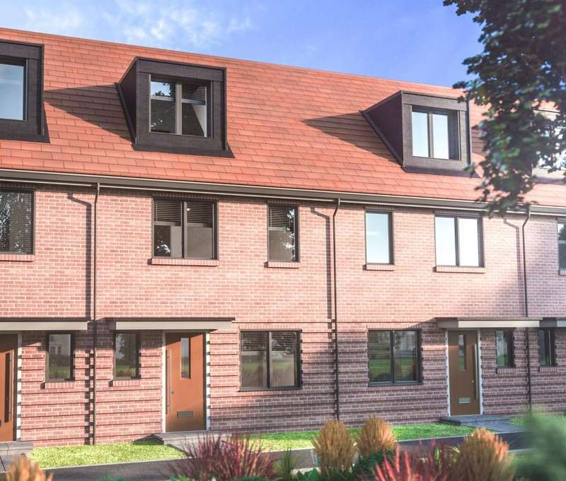 3 Bedrooms Terraced House for sale in Imperial Way, Reading, RG2