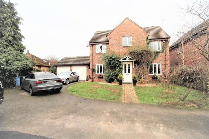 4 Bedrooms Detached House for sale in Bromley Close, Halewood Village, LIVERPOOL, Merseyside