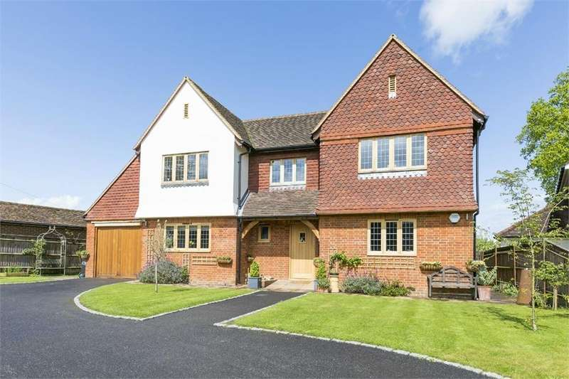 5 Bedrooms Detached House for sale in The Street, Compton, Guildford, Surrey