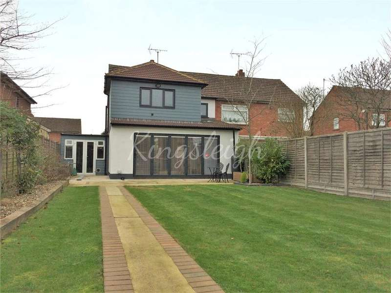 3 Bedrooms Semi Detached House for sale in Worthington Way, Colchester, Essex, CO3