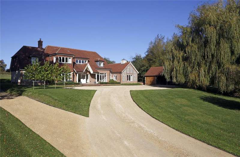 6 Bedrooms Detached House for sale in Common Road, Headley, Hampshire