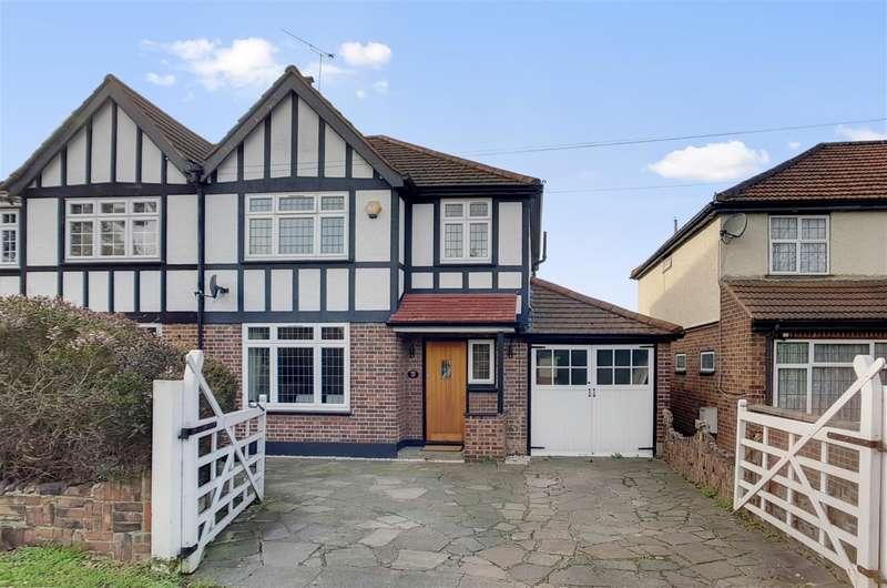 3 Bedrooms Semi Detached House for sale in Vine Lane, Uxbridge, London, UB10 0BA