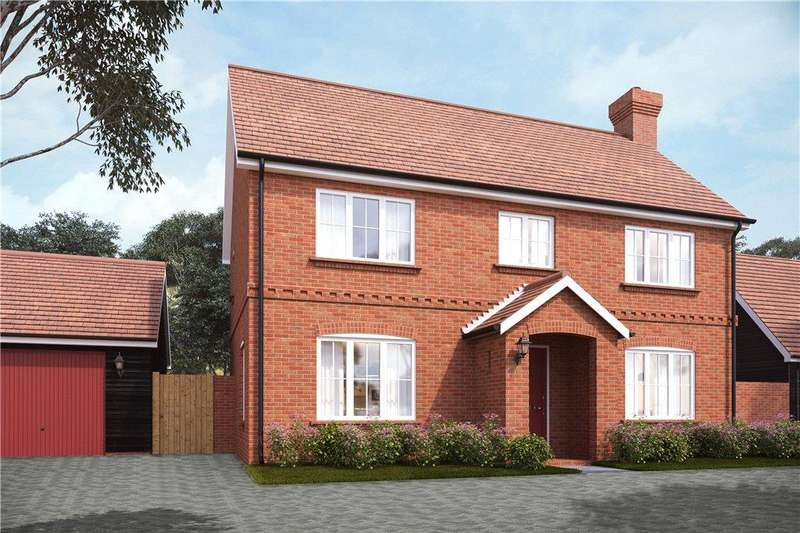 4 Bedrooms Detached House for sale in Hamlet Grove, Longwick, Buckinghamshire