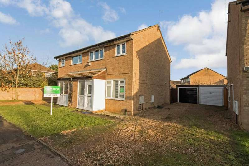 3 Bedrooms Semi Detached House for sale in Medeswell, Orton Malborne, Peterborough, PE2