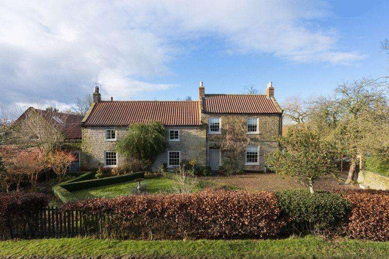 5 Bedrooms Detached House for sale in Seaves Farm, Brandsby, York